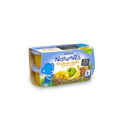 Compote Nestlé Fruits du Soleil 4 X 130g (8 mois et +)