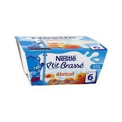 Nestlé Brassé Abricot 4x100g