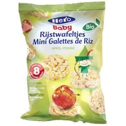 mini galettes de riz pomme Bio