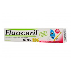 Dentifrice fluo caril gel fraise