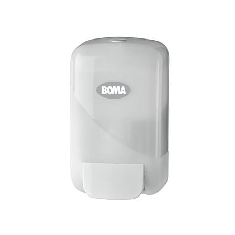Distributeur savon 800 ml rechargeable blanc