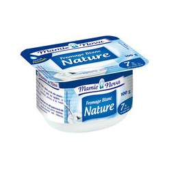 Fromage Blanc nature 4 X100g Alsace Lait