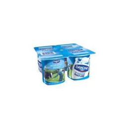 Yaourt nature 4 pièces X125g DANONE