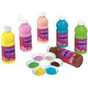 Peinture Acrylique - Pack de 6 flacons