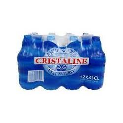 Cristaline Bouchon Sport - 33cl X 6