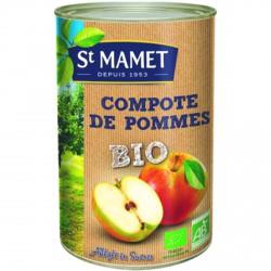 Compote pomme morceaux en boite - 4.2 kg