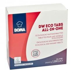 Tablettes DW Eco tout en un  - 100 pièces