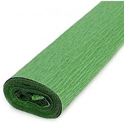 Papier crépon Vert foncé 200 x 50 cm - 10 feuilles