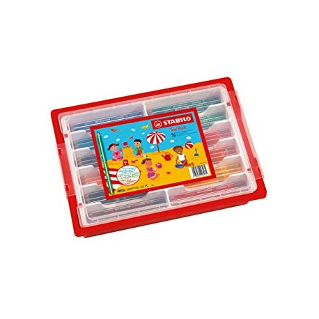 Classpack Stabilo - 96 crayons -