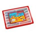 Crayons de couleur- Classpack Stabilo - 96 crayons