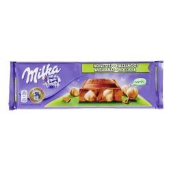 Chocolat au lait NOISETTES - MILKA 270g