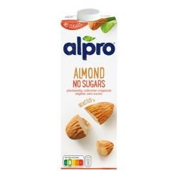 Lait d'amandes sans sucre ajouté Alpro 1L