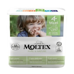 Couches BIO Moltex x 30- Taille 4