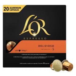 Cafe L'or espresso delizioso X20 capsule