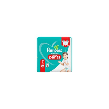 Pampers Baby-Dry Pants 17kg et + taille 7 x30