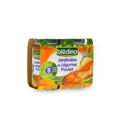 Blédina Jardinière de Légumes Poulet dès 8mois 2x200g