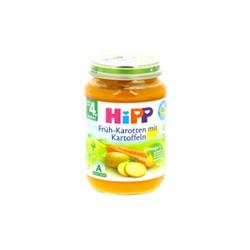 Hipp Bio Purée de Carottes, Pommes de Terre dès 4 mois 190g