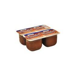 Crème dessert chocolat 4 pièces x125g NOVA